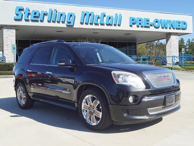 Sterling Mccall Gmc >> Pre Owned 2011 Gmc Acadia Denali Offsite Location