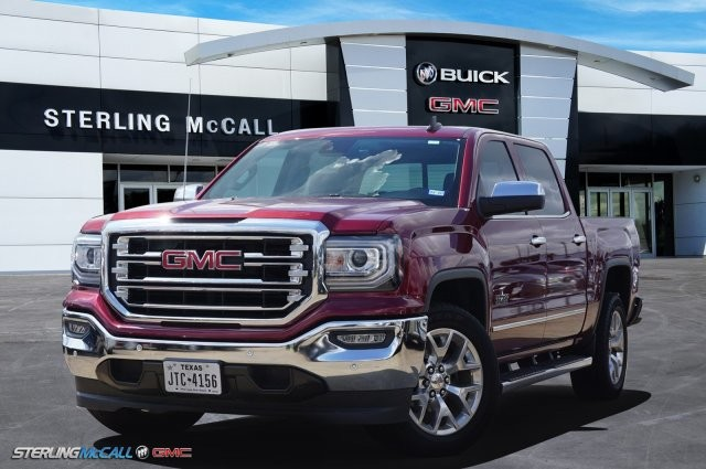 Sterling Mccall Gmc >> Pre Owned 2017 Gmc Sierra 1500 Slt