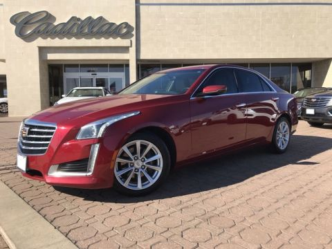 Pre-Owned 2018 Cadillac CTS Sedan RWD