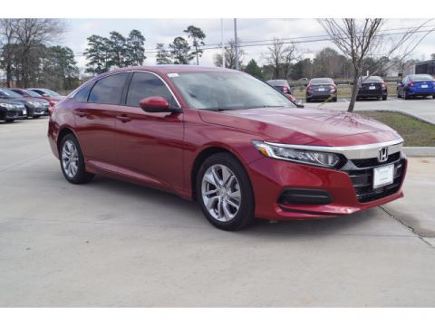 Pre-Owned 2019 Honda Accord Sedan LX 1.5T
